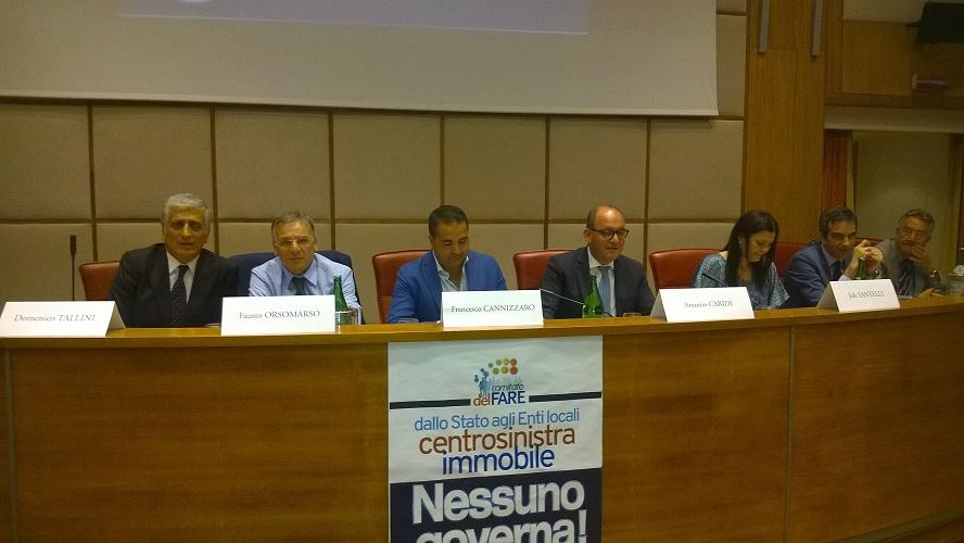 Conferenza cemtrodestra Reggio Calabria