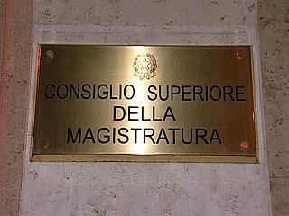 Csm consiglio superiore magistratura