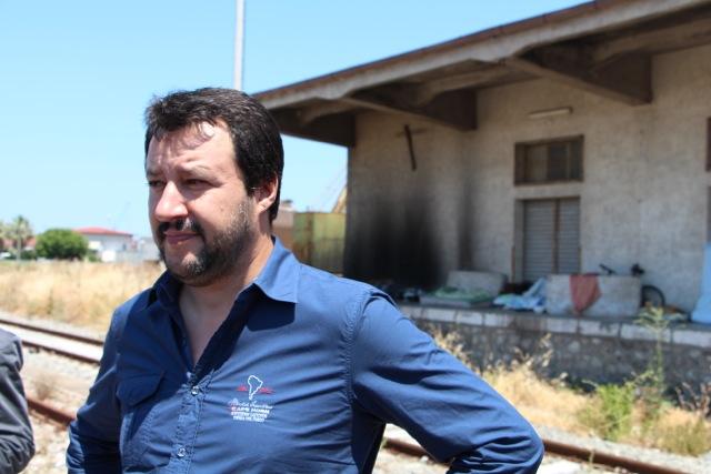 Salvini la prossima settimana a Reggio Calabria consegna beni confiscati