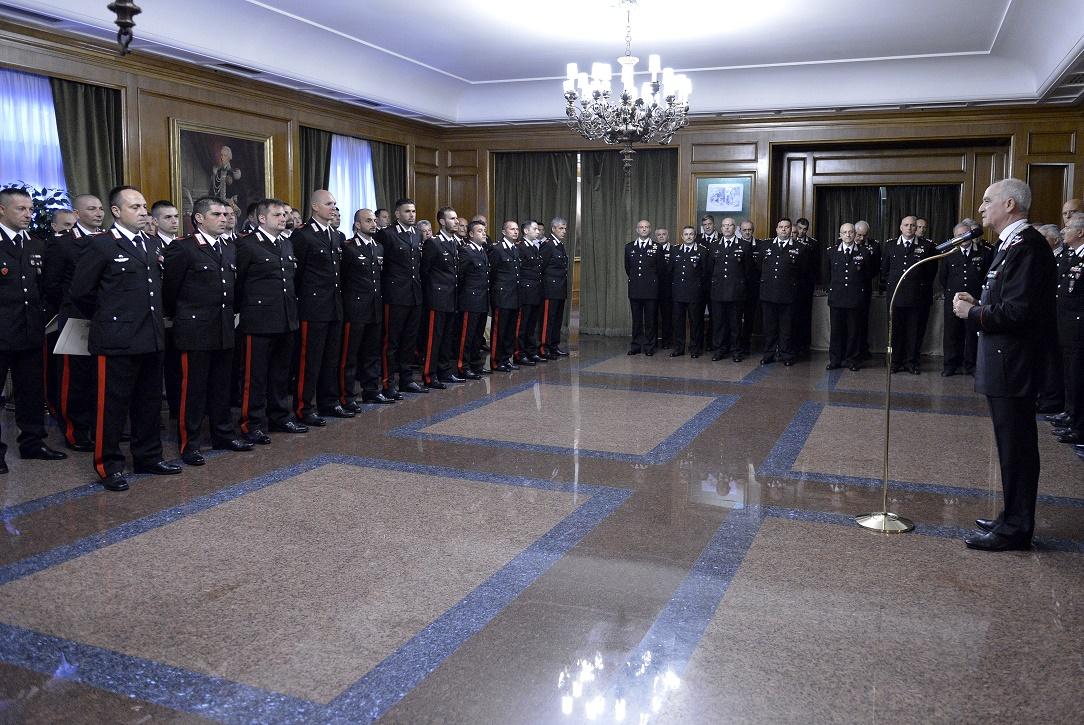 Vibo comandante carabinieri premiazione