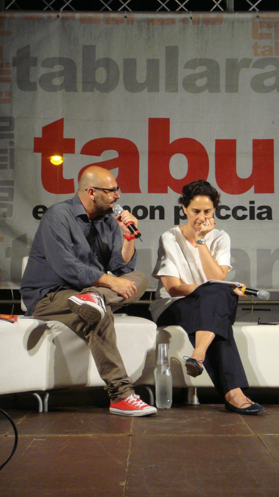 Tabularasa 2015 - Raffaele Mortelliti e Ilaria Bonaccorsi