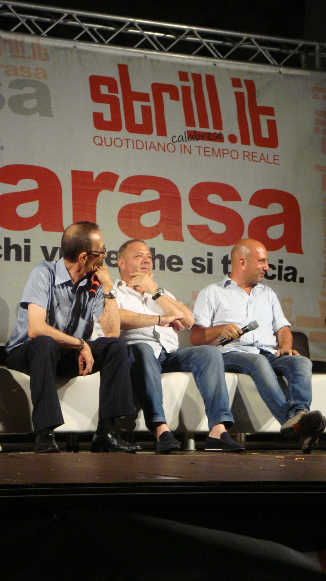 Tabularasa 2015 - Pino Maniaci, Michele Albanese, Alessandro Russo