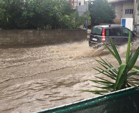 Pioggia e alluvione a Caminia