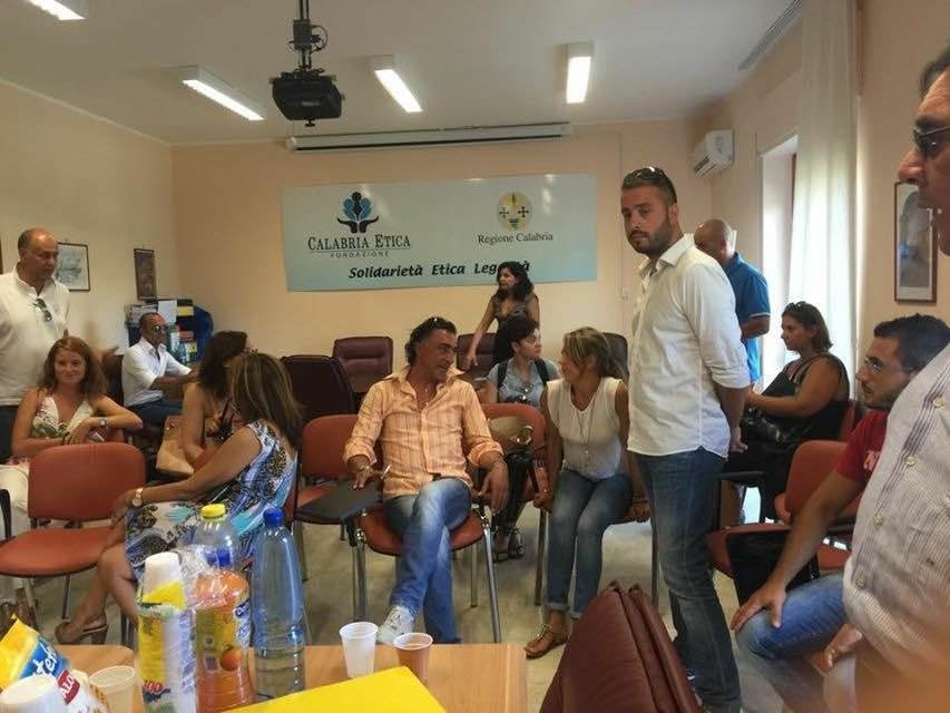 Occupazione sede Calabria Etica Catanzaro