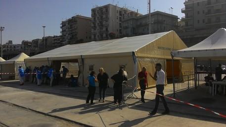Giunti a Reggio Calabria 369 migranti