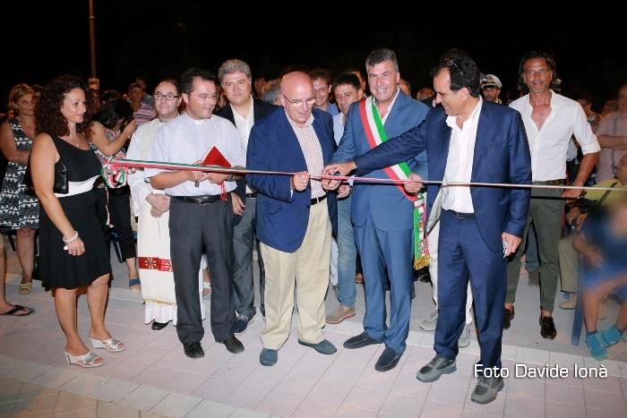 Sellia Marina inaugurazione nuovo tratto lungomare
