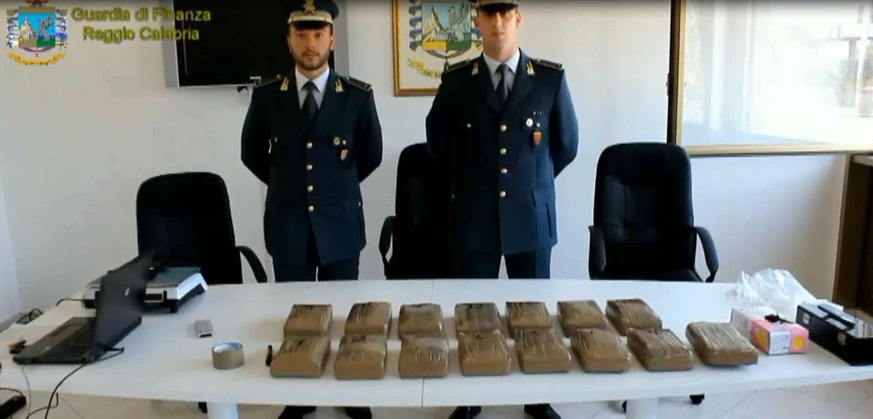 Sequestro cocaina Reggio Calabria 10 agosto