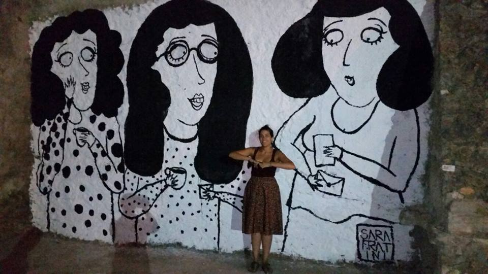 Girifalco Rivedi il centro storico - murales con artista
