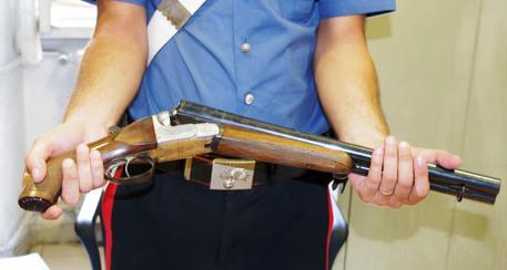 Fucile sequestrato dai carabinieri