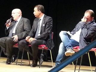 Mario Oliverio foto incontro giornalisti