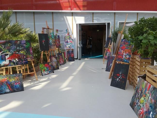 Successo per la mostra dell'artista messinese Salonia al Bio Mediteraneo Expo