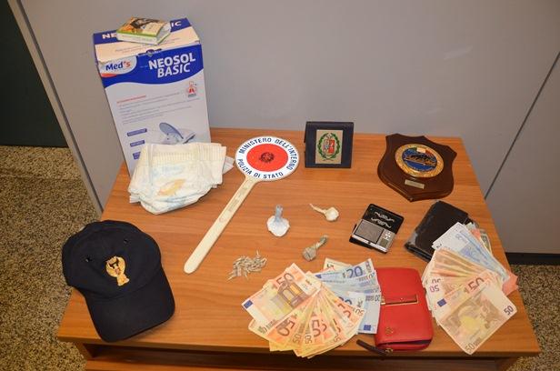 Eroina e Cocaina sequestrata Catanzaro