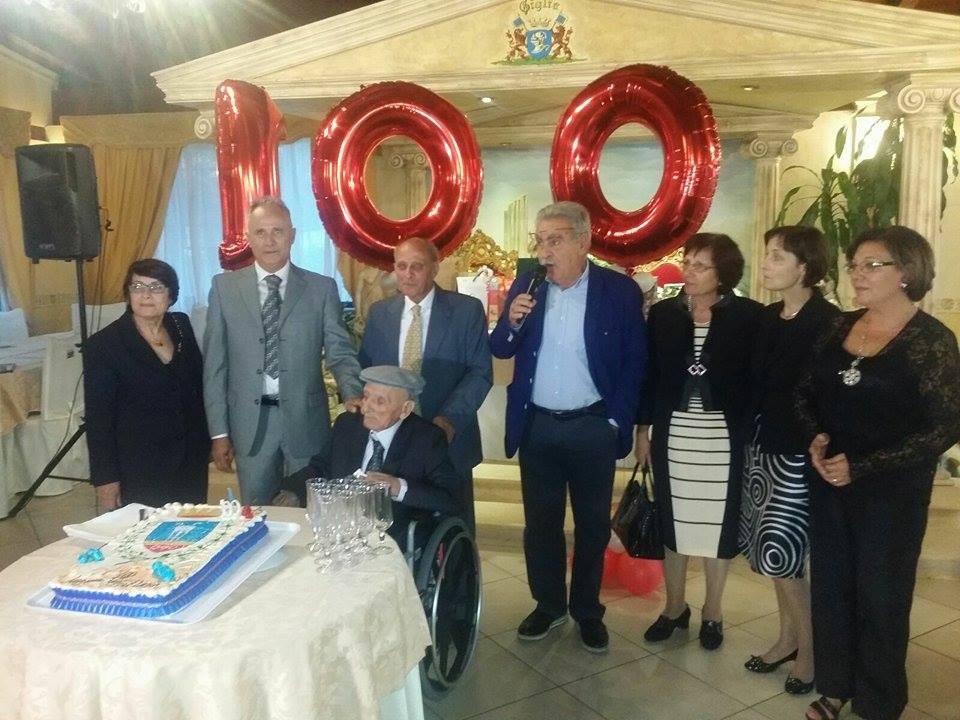100 anni Gaetano Valerio