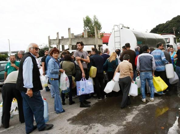 Emergenza acqua a Messina
