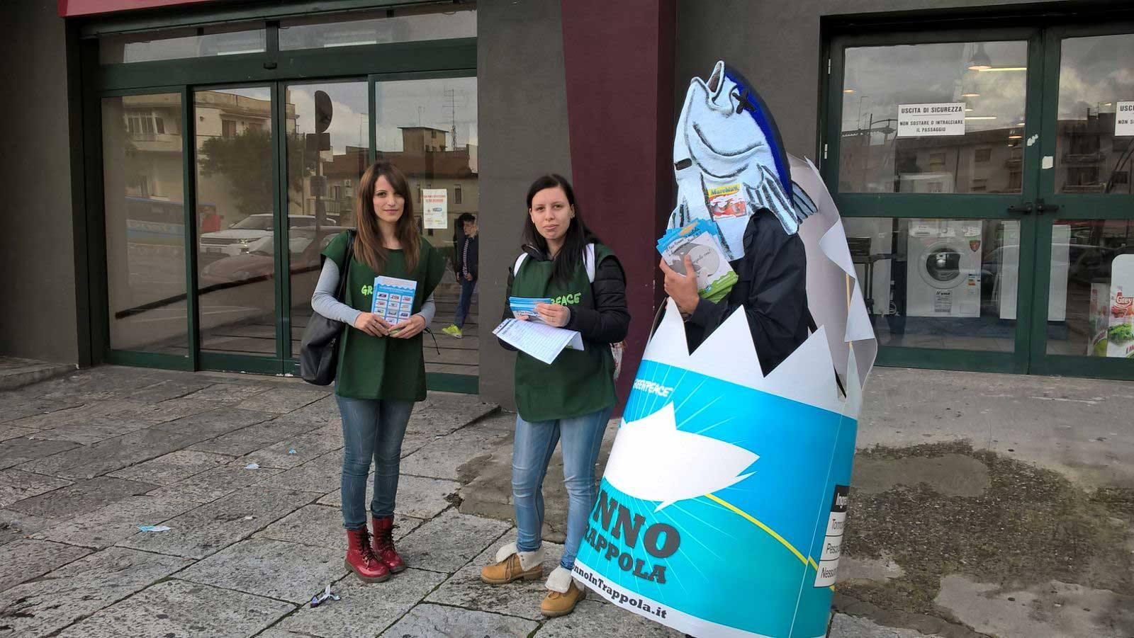 Greenpeace Tonno