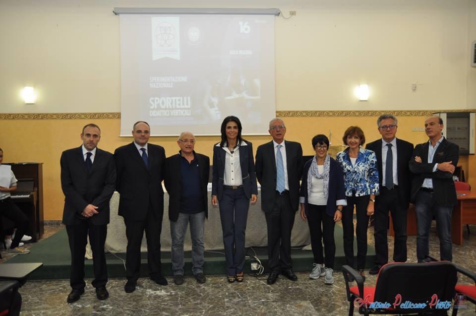 Liceo da Vinci-Mediterranea, Progetto pilota nazionale