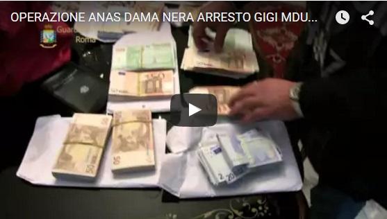 Operazione Dama Nera arresti Anas 3