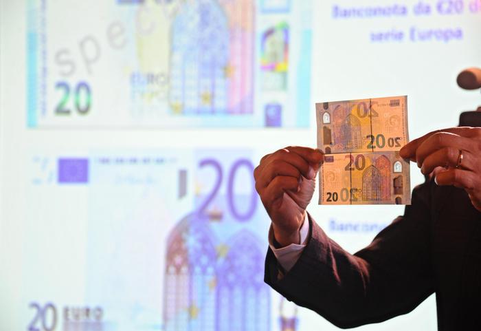 Bankitalia: presentata la nuova banconota da 20 euro
