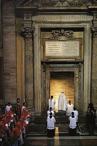 Giubileo Apertura della Porta Santa