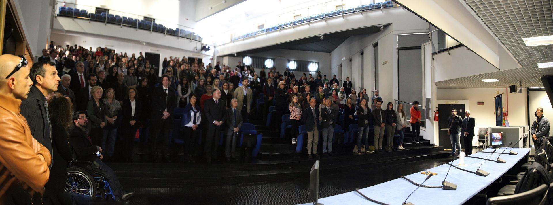 Mediterranea cerimonia per attentati Parigi