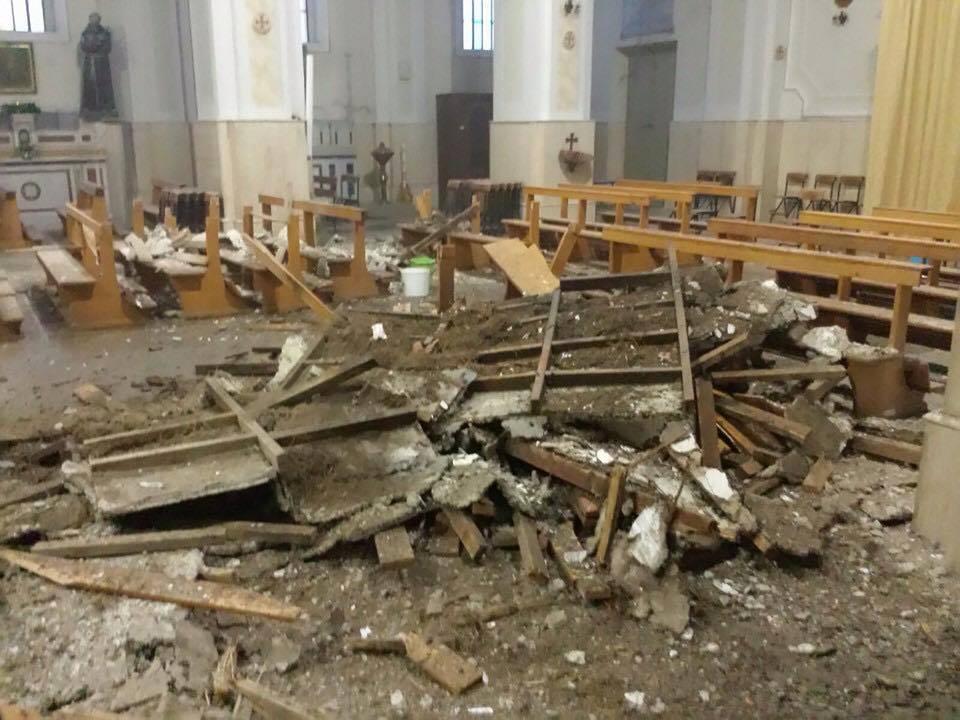 Maltempo Novembre 2015 - Chiesa Bovalino