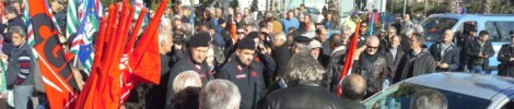 Legge Stabilità, protesta a Cosenza nord