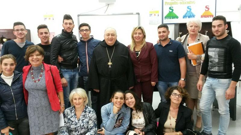 Reggio - Morosini visita istituto Boccioni