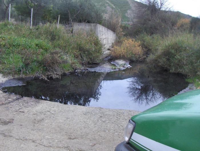 Ambiente: acque reflue di frantoio in torrente, denunciato responsabile