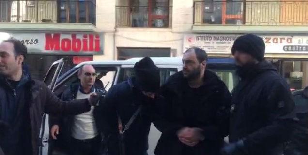 Arresto latitanti Crea Ferrara Rc