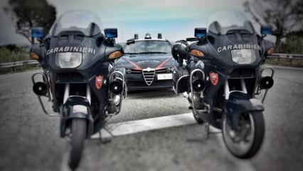 Auto e moto carabinieri