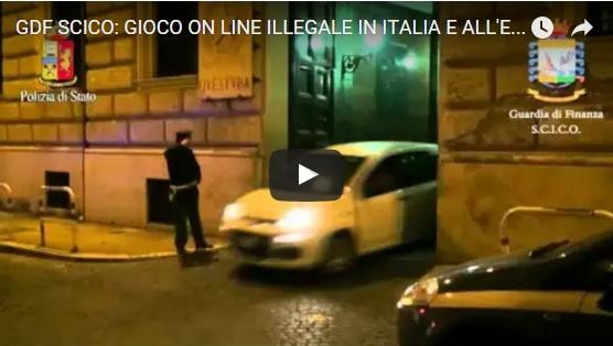 GDF SCICO - GIOCO ON LINE ILLEGALE IN ITALIA E ALL'ESTERO. 11 ARRESTI E SEQUESTRO BENI PER 10 MILIONI
