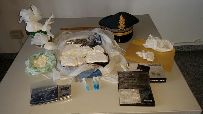Gdf arresto cocaina
