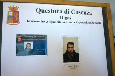 Hamil Mehdi marocchino_arrestato_foto terrorismo Luzzi