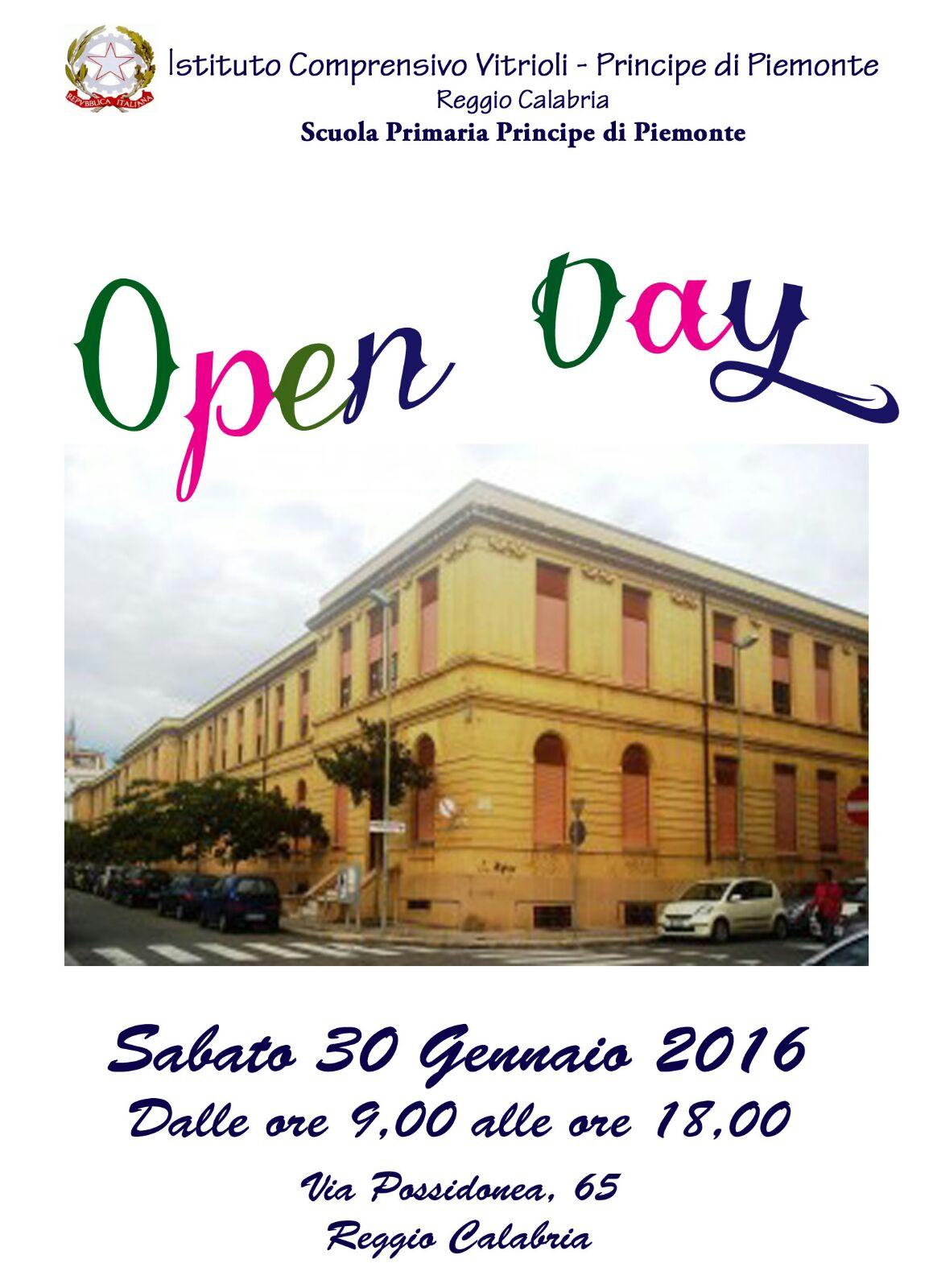 Principe di piemonte open-day-2016