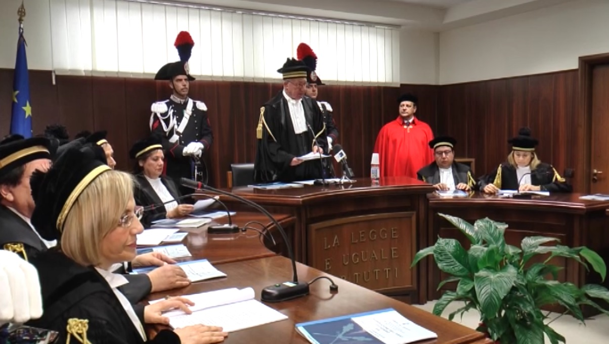Corte dei Conti anno giudiziario