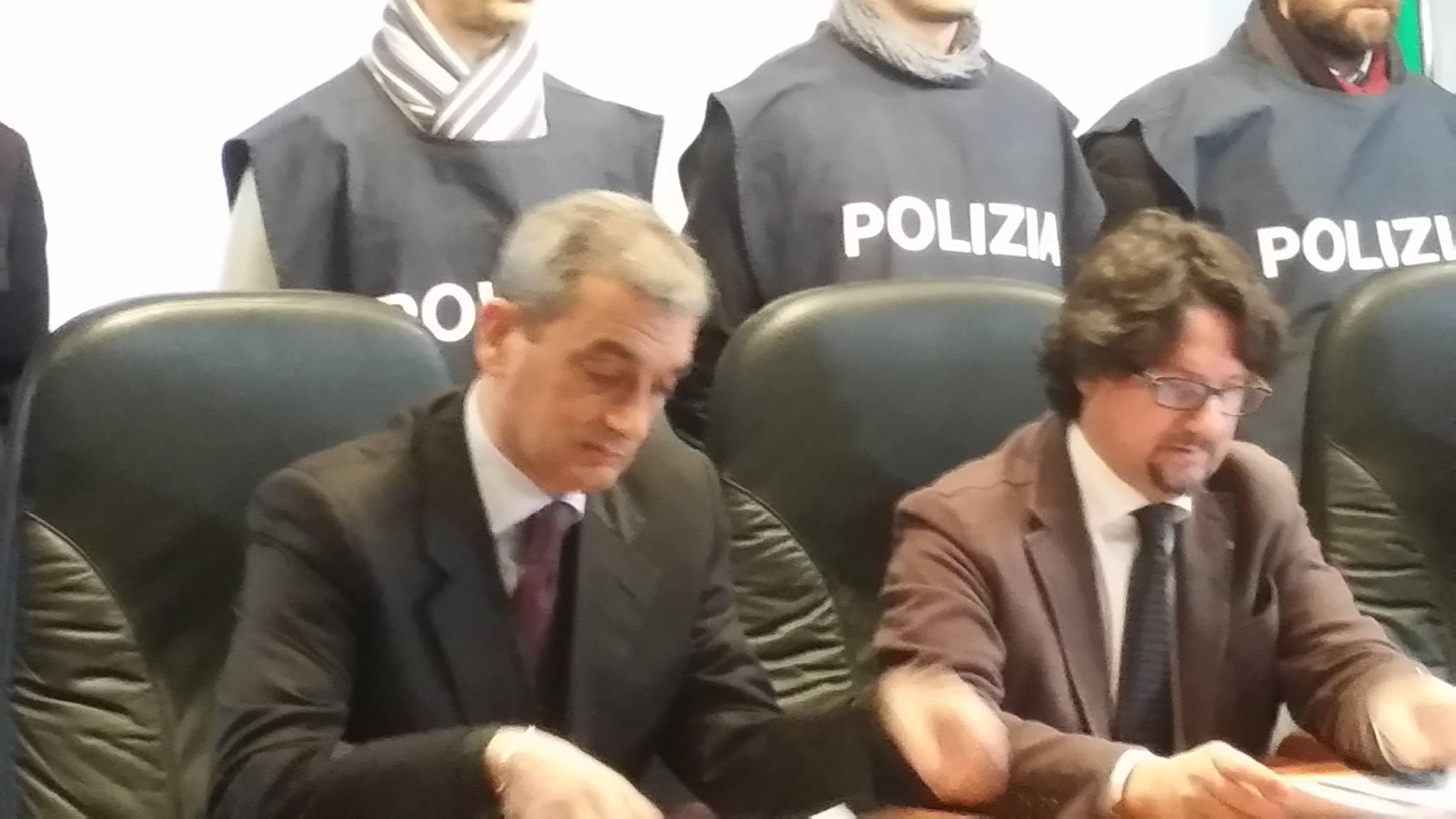 Nino De Santis e Giovanni Bombardieri