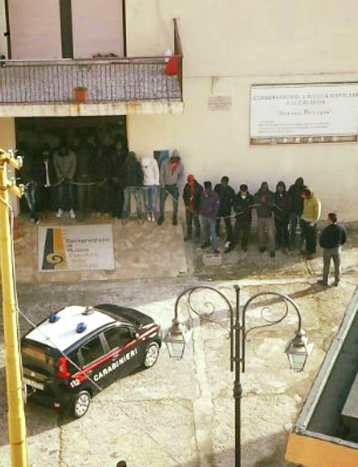 Protesta Sprar Isca sullo Ionio