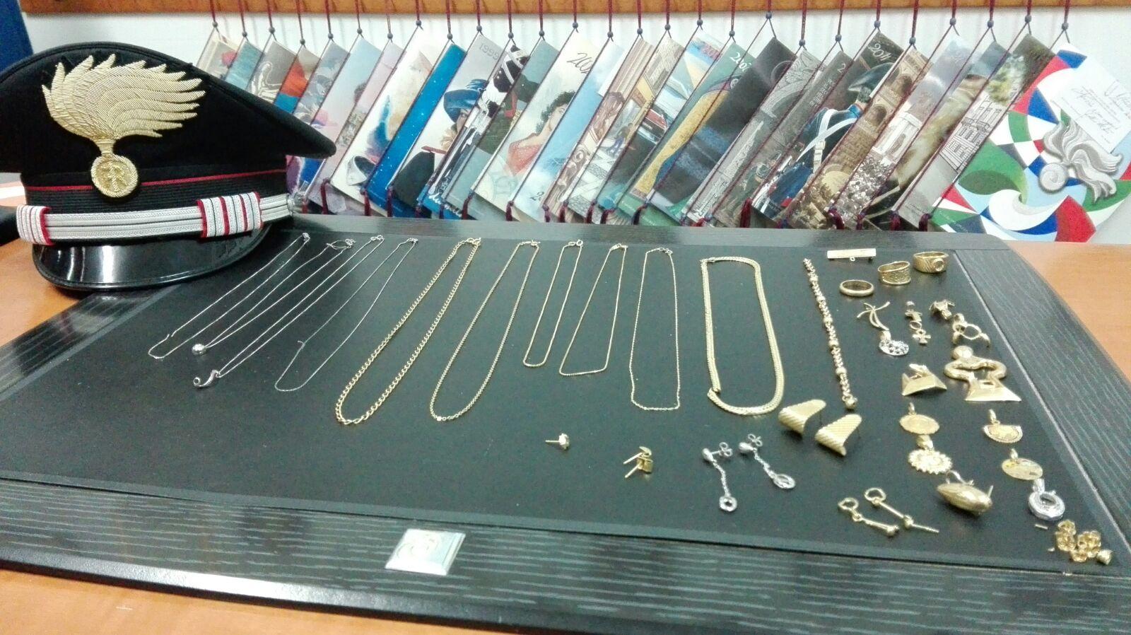 Compro oro derubato