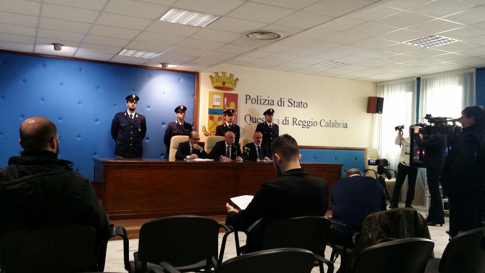 Operazione Sistema Reggio - Foto conferenza