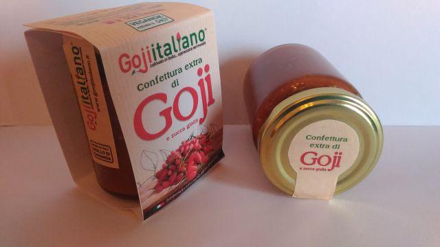 confettura di goji italiano