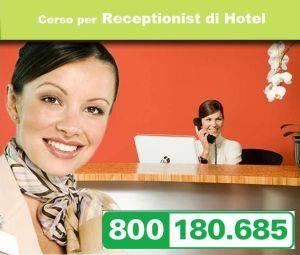Corso per receptionist di Hotel