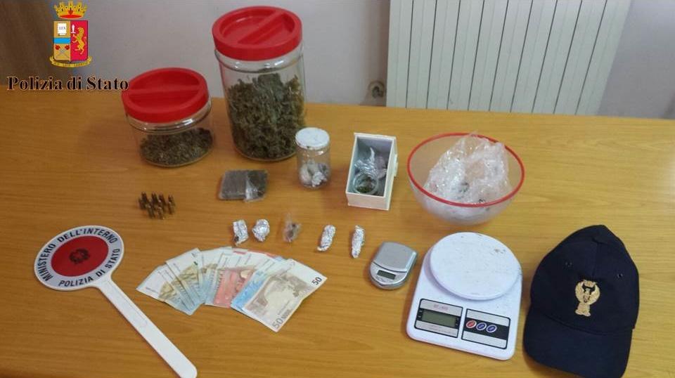 In casa con marijuana e munizioni: arrestato 20enne di Polistena (RC)