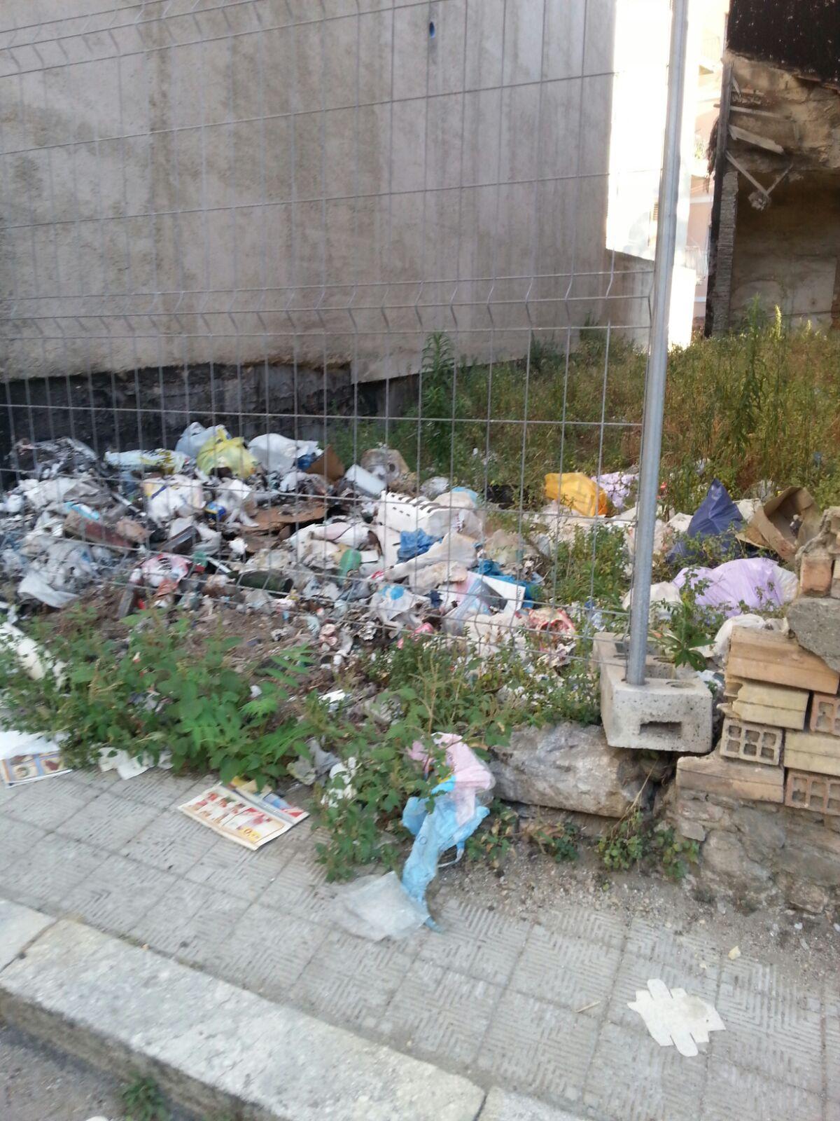 Reggio - Via Vecchio cimitero invasa da immondizia, blatte e topi