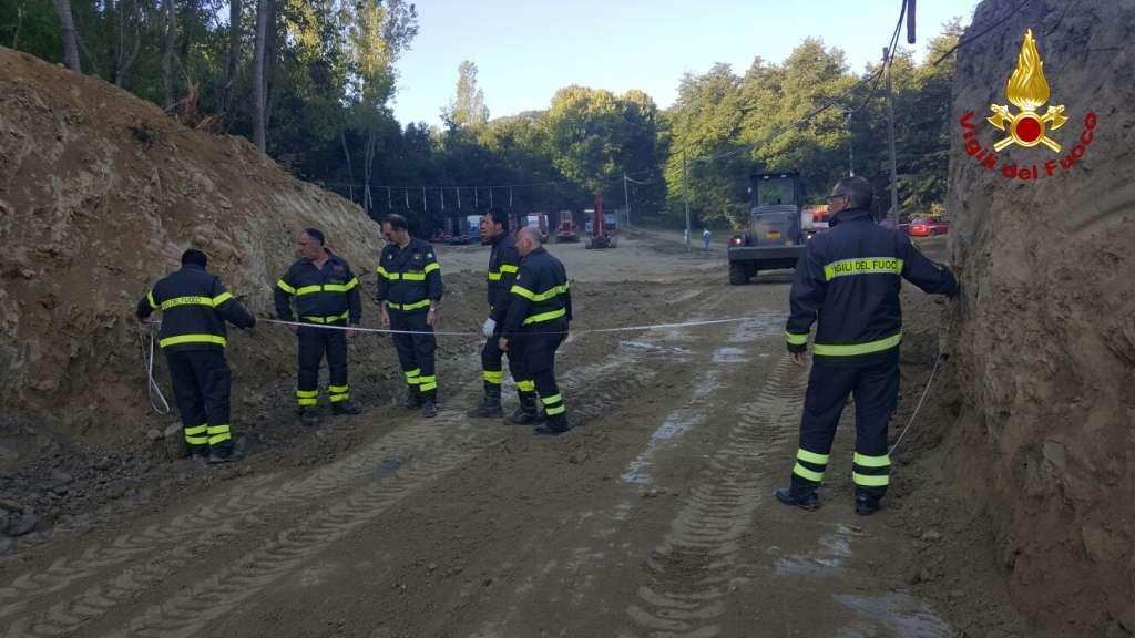 Terremoto in Centro Italia: continua il lavoro dei Vigili del fuoco calabresi