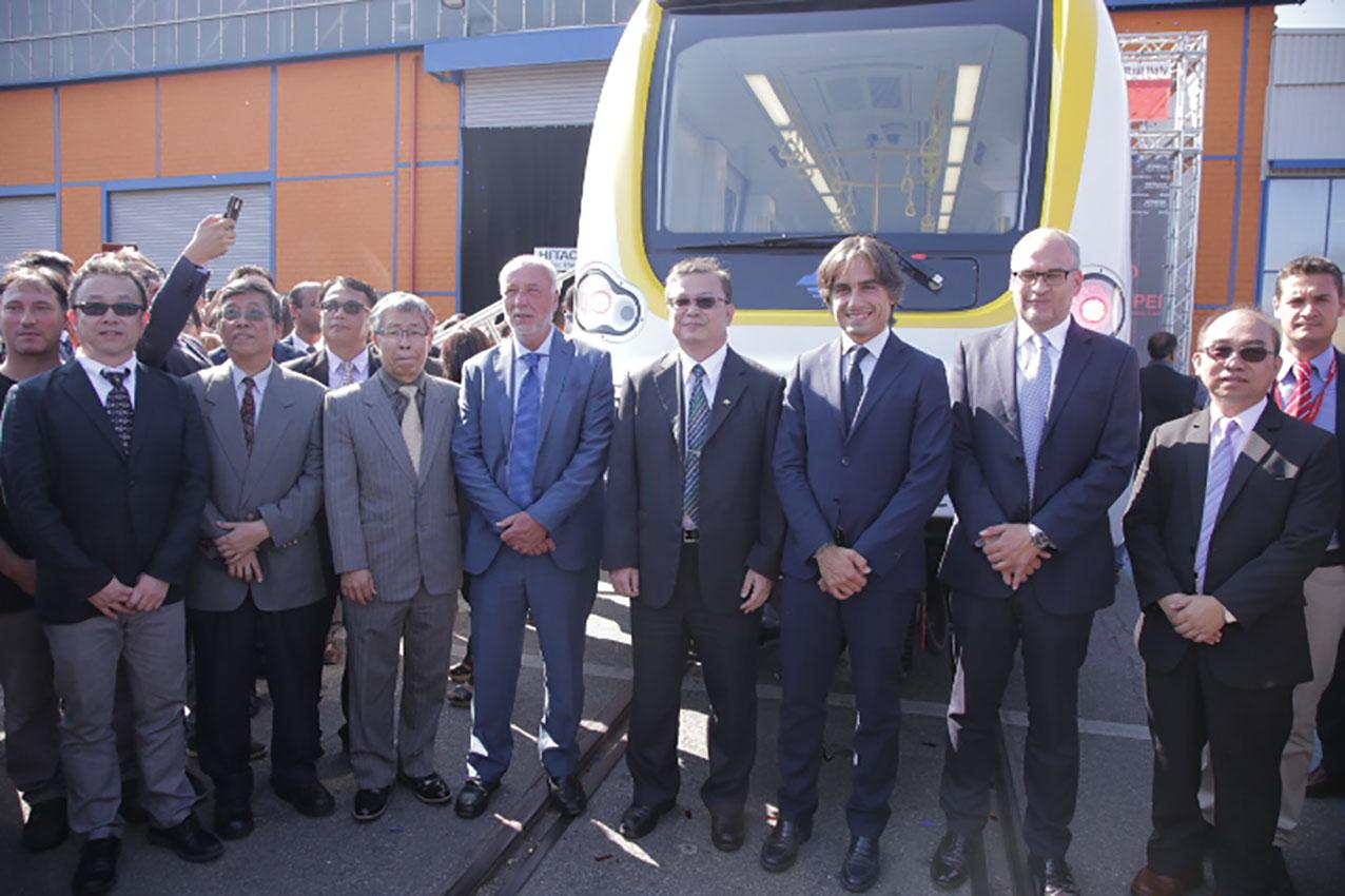 Reggio - Hitachi: presentato il primo treno della metropolitana di Taipei