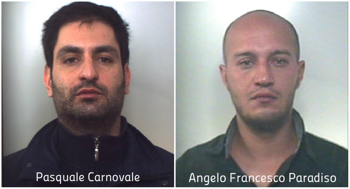 Pasquale Carnovale e Angelo Francesco Paradiso