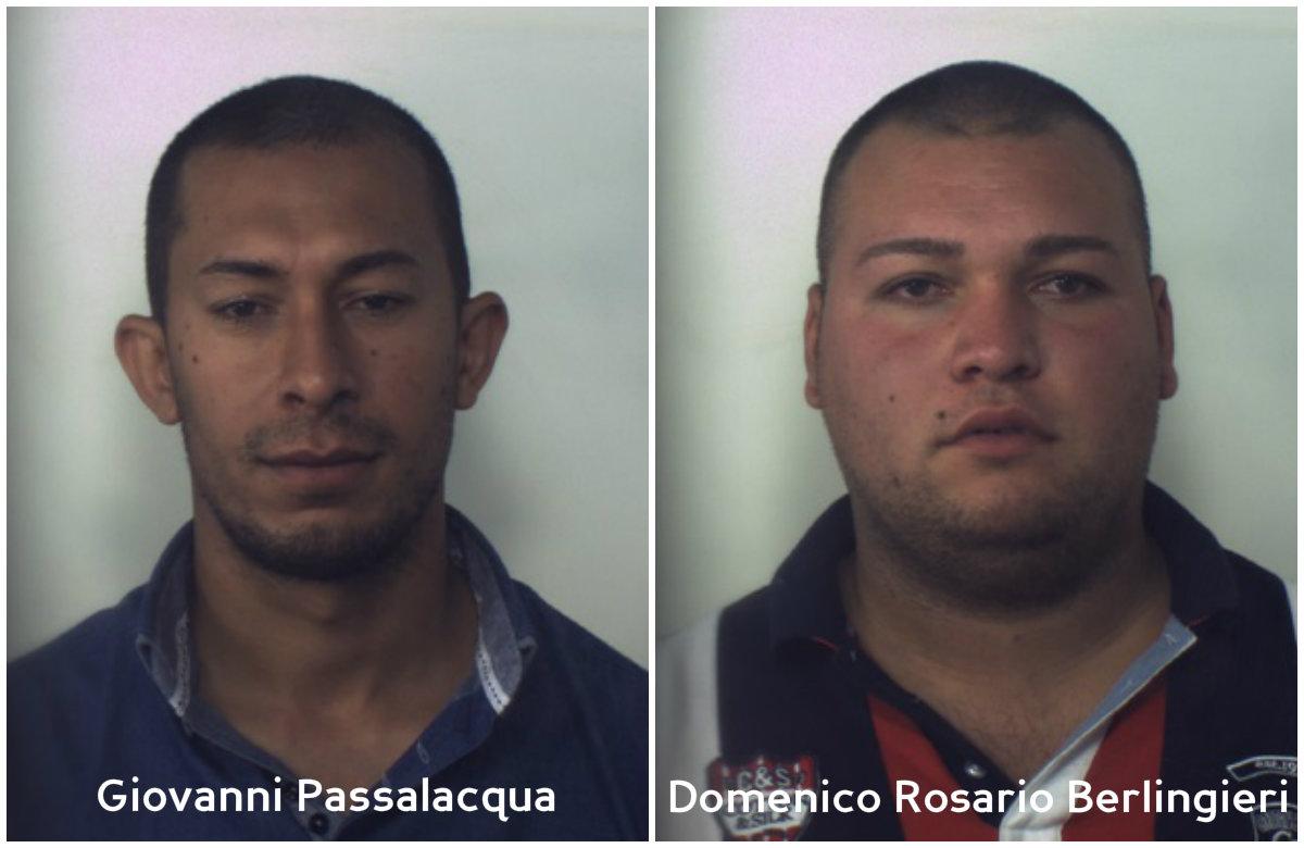 Arresti Lamezia Berlingieri e Passalacqua