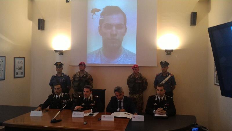 Arresto latitante Antonio Pelle Reggio