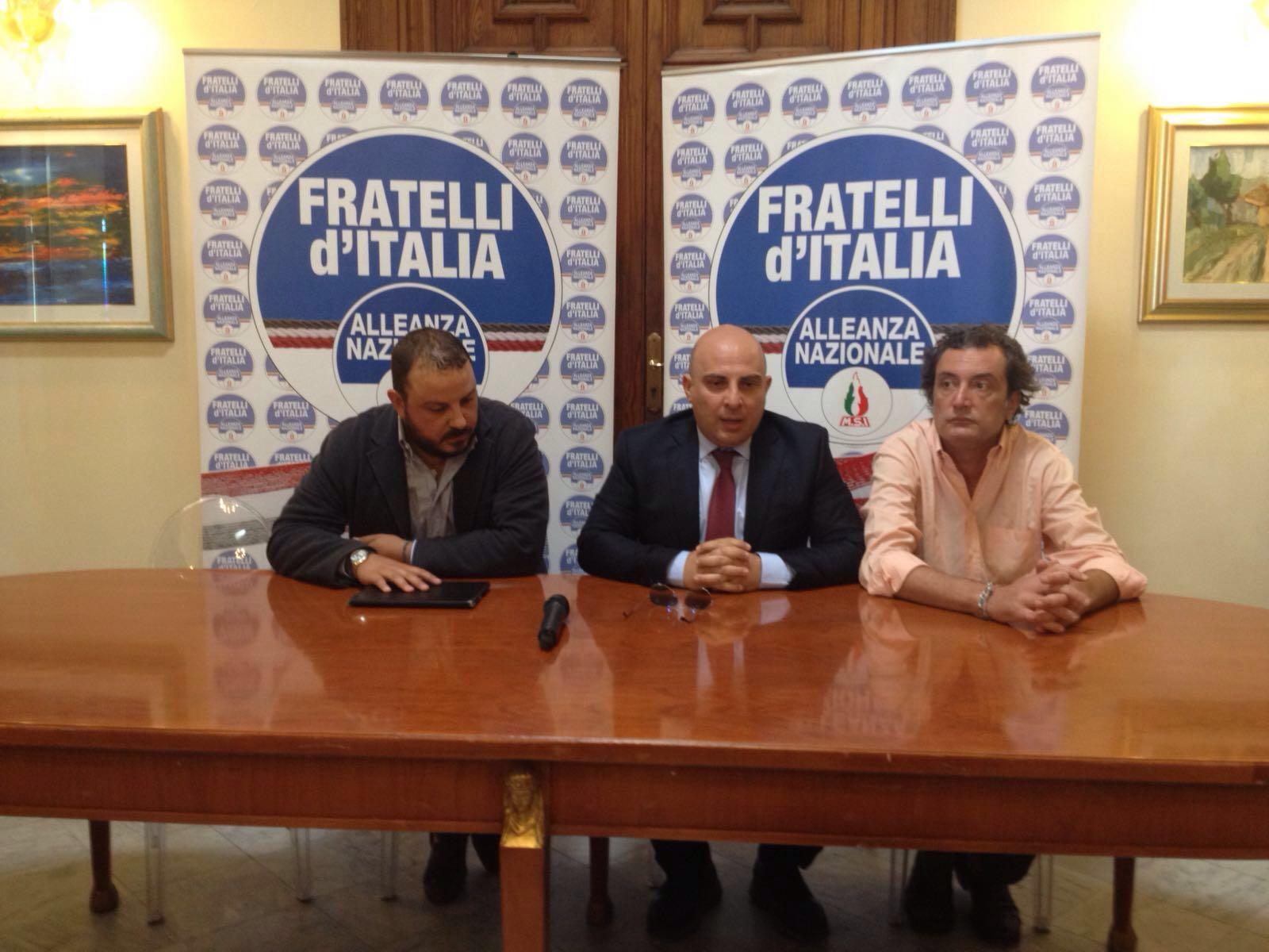 Fratelli d'Italia An su Gioia Tauro