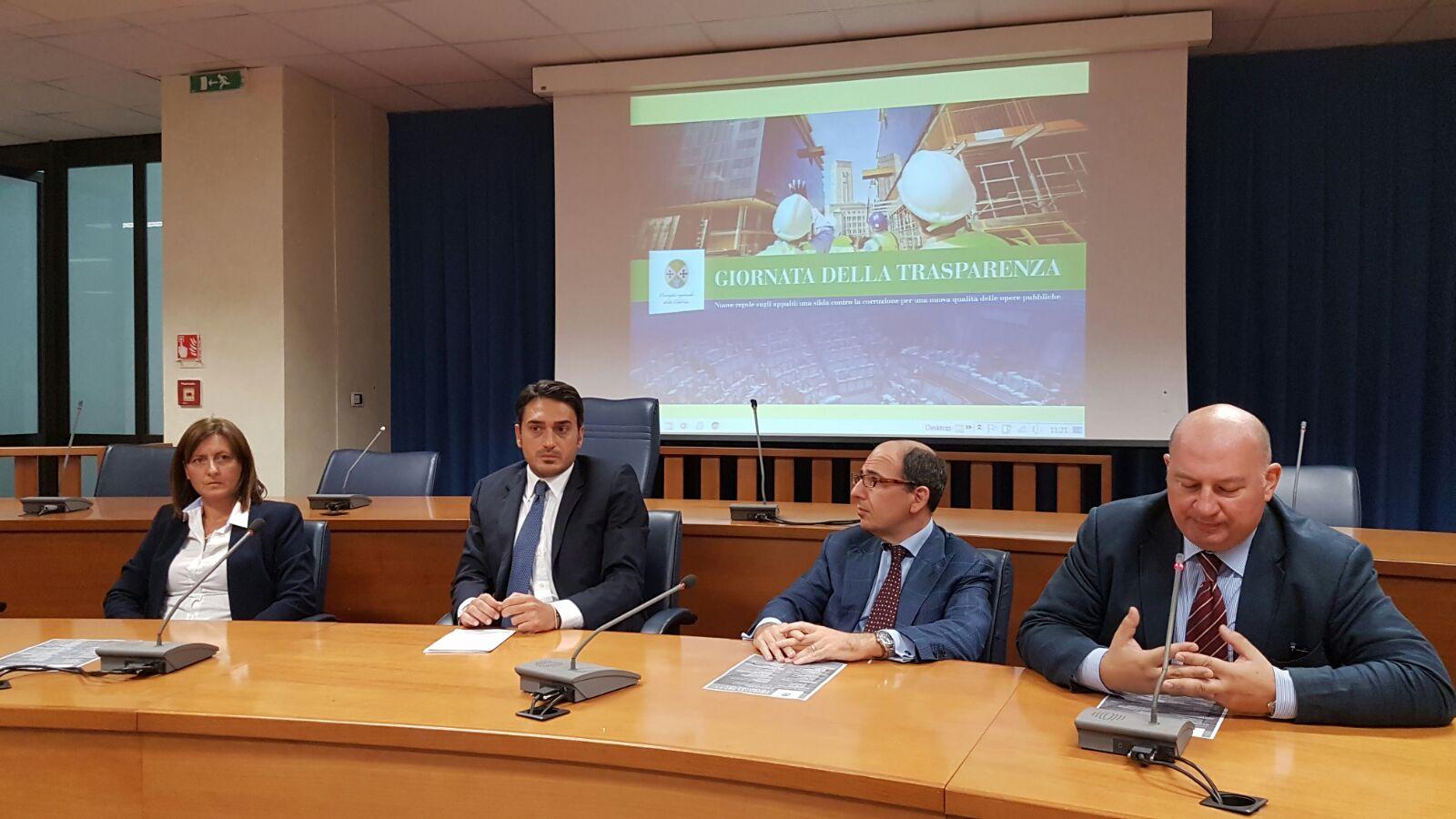Giornata della Trasparenza a Reggio